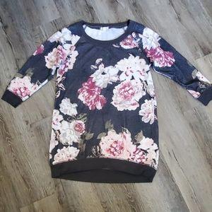 Eyeshadow Floral Sweater